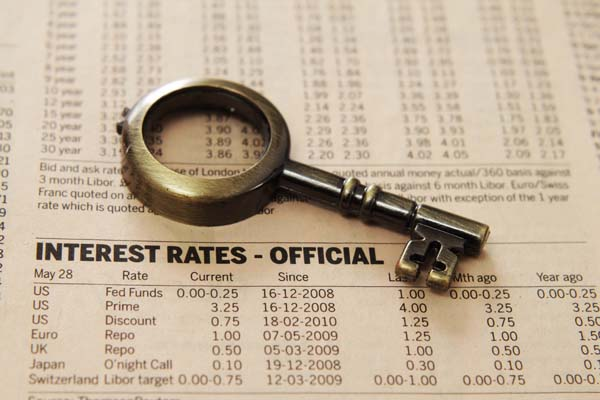 Gulf Shores real estate interest rates have risen slightly over the past couple of months.